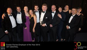 We've been named Employer of the Year at Guernsey Awards for Achievement